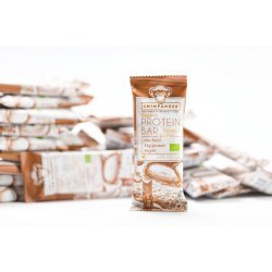 Chimpanzee Organic Protein Bar - Unt de arahide, 45g (Vegetarian & Raw & Fără Gluten)