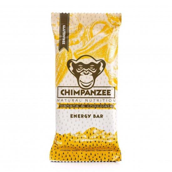 Chimpanzee Energy Bar - Ciocolata si Banane 55g (Vegan si Fara Gluten)