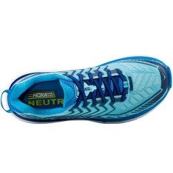 Hoka Clifton 4 pentru femei - turcoaz-albastru