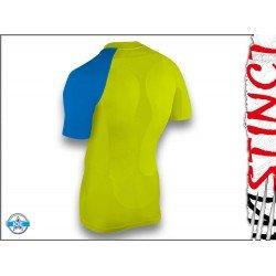 Instinct Sensation Ice tricou maneca scurta - galben albastru