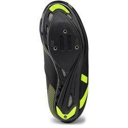 Northwave Torpedo 2 Junior - pantofi Road copii - negru-galben-fluo