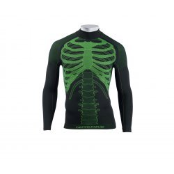 Northwave Body Fit Evo Long Sleeves negru-verde