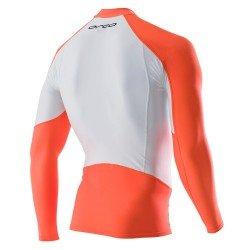 Orca Rash Guard bluza lycra-portocalie