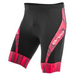 Orca 226 Compression Tri Short pantaloni triatlon negru/rosu