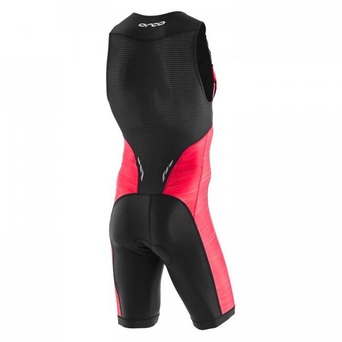 Orca Core costum triatlon negru-rosu
