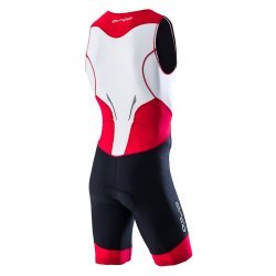 Orca Core Race Suit costum triatlon negru/rosu/alb