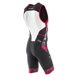 Orca 226 RACE SUIT costum triatlon-rosu