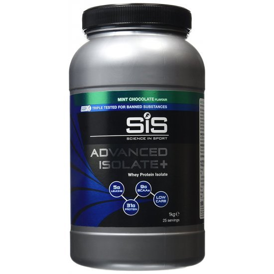 SIS Advanced Isolate+, Bidon 1kg, Ciocolata Mentolata