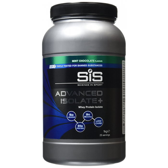 SIS Advanced Isolate+, Bidon 1kg, Ciocolata Mentolata