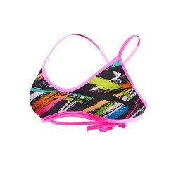 TYR Ravana Crosscut Tieback Top negru-multicolor