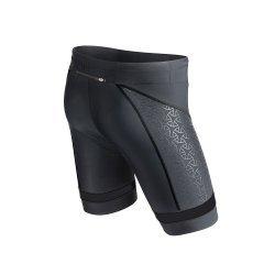 "TYR Tri Short Barbati Carbon 9"" negru-rosu"