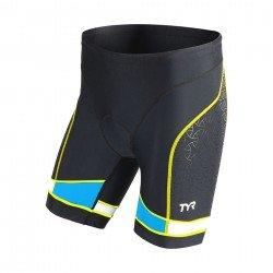 """TYR Tri Short Barbati Competitor 7"""" negru-albastru"""