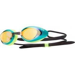 TYR ochelari inot BlackHawk transparent verde-auriu