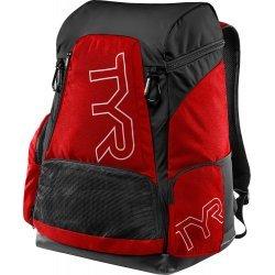 TYR Rucsac Alliance 45L negru-rosu