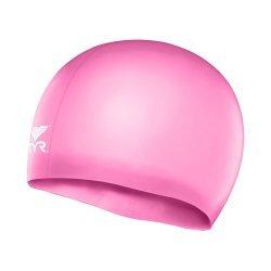 TYR casca inot silicon copii roz