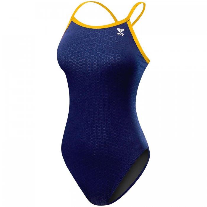 TYR Hexa Diamondfit albastru-galben