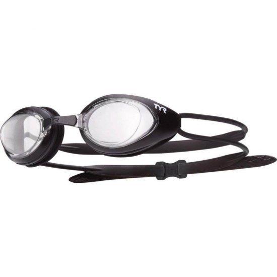 TYR ochelari inot BlackHawk transparent-negru