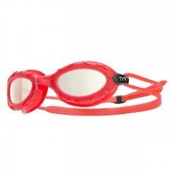 TYR Nest Pro Metalizat ochelari inot rosu