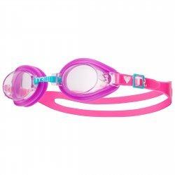 Qualifier TYR ochelari inot copii roz-transparent