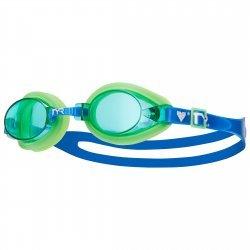 Qualifier TYR ochelari inot copii verde-albastru