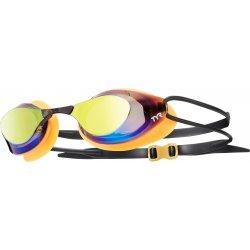 TYR Stealth Racing Metalizat portocaliu ochelari inot