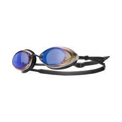 TYR Tracer Racing Metalizat ochelari inot competitie negru-albastru