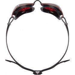 TYR Tracer Racing Metalizat ochelari inot competitie rosu-argintiu