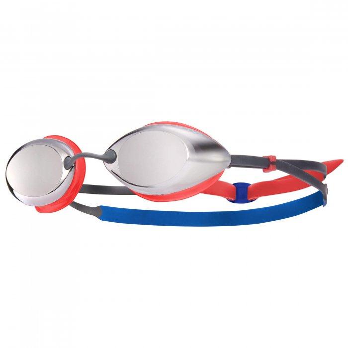 TYR Tracer Racing Junior Metalizat ochelari inot copii rosu-albastru