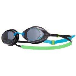 TYR Tracer Racing Junior ochelari inot copii albastru-verde