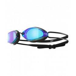 TYR ochelari de compentitie Tracer X metalizati albastru/negru