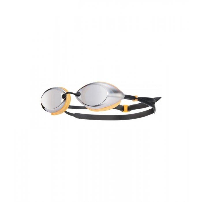 TYR Tracer Racing Metalizat ochelari inot competitie argiutiu/portocaliu/albastru
