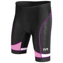 "TYR Trishort Competitor Femei 8"" negri-Mov"