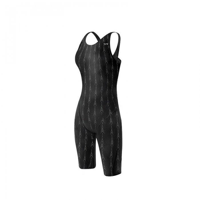 TYR - costum tehnic inot femei - Aerofit Shortjohn - Fusion 2 - negru