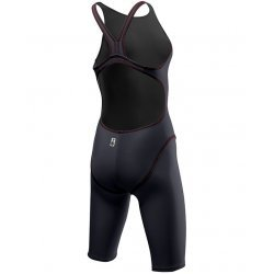 TYR Costum tehnic Thresher Open Back gri-rosu