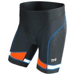 """TYR Tri Short Barbati 7"""" negru-albastru-orange"""