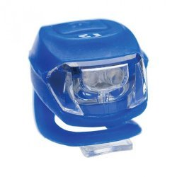 Bike Fun LED Spate Pixie 2 Lumina Rosie, 2 functii, silicon, Albastru
