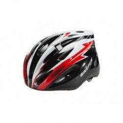 BikeFun Casca Cobber negru-rosu