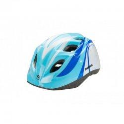 BikeFun Casca Junior albastru-alb
