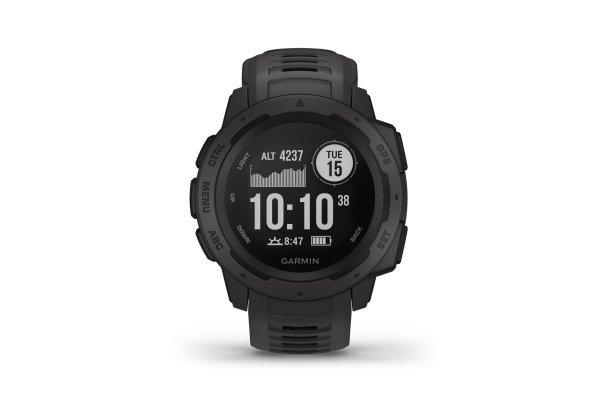 Garmin - Instinct - gri inchis Grafit - ceas inteligent cu GPS cu functii avansate pentru sport