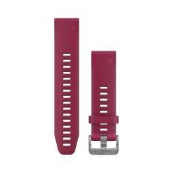 Garmin curea silicon cireasa QuickFit 20 pentru Fenix 5s si 5s Plus