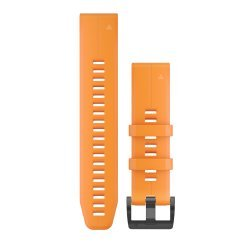 Garmin curea silicon portocalie QuickFit 22 pentru Fenix 5