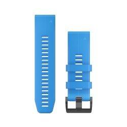 Garmin curea silicon albastru QuickFit 26 pentru Fenix 5x / 3 / 3HR