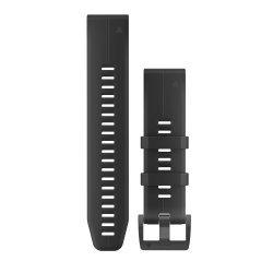 Garmin curea silicon neagra QuickFit 22 pentru Fenix 5 18