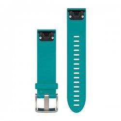 Garmin curea silicon turcoaz QuickFit 20 pentru Fenix 5s
