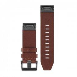 Garmin curea piele maro QuickFit 26 pentru Fenix 5x / 3 / 3HR