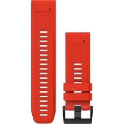 Garmin curea silicon rosie QuickFit 26 pentru Fenix 5x / 3 / 3HR