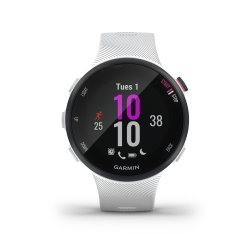 Garmin Forerunner 45s alb - ceas cu GPS pentru alergare, bicicleta, cardio, yoga si alte sporturi