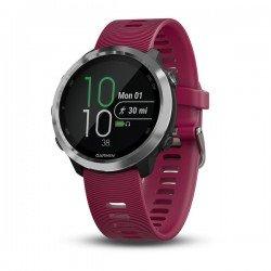 Garmin Forerunner 645 Music ciresiu silver - ceas cu GPS pentru alergare, bicicleta, cardio, yoga si alte sporturi