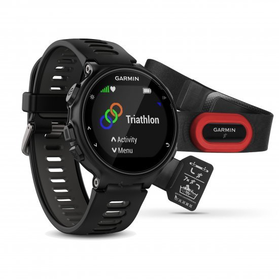 Garmin Forerunner 735xt negru-gri Bundle HRM-Run