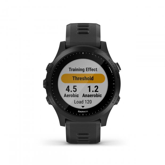 Garmin Forerunner 945 negru - ceas cu GPS pentru alergare, bicicleta, inot, triatlon si alte sporturi